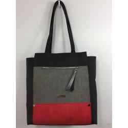 ADELINA (juoda/grafitinė/raudona)