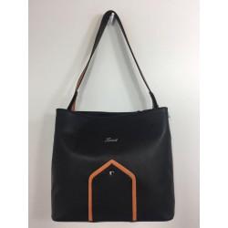 NONA (juoda/oranžinė)