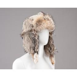Suomiško stiliaus ausinė kepurė