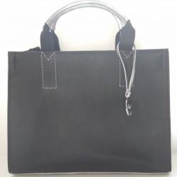 VIVIEN (juoda/sidabrinė)